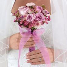 Clutch Bridal Bouquet