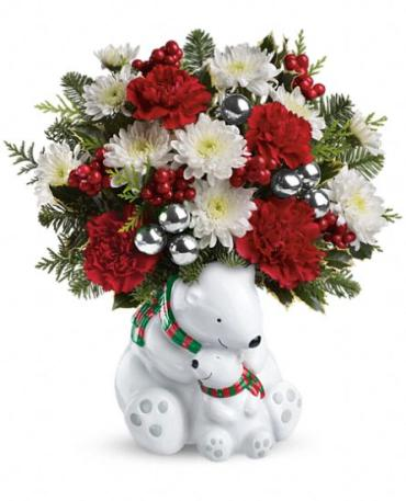 Send a Hug Cuddle Bears Bouquet