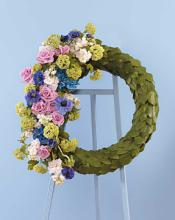 Eucalyptus Scaled Wreath