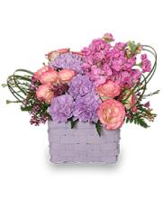 I Like Lilac Basket