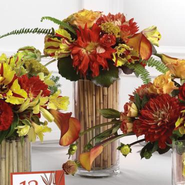 Tall Cylinder Centerpiece
