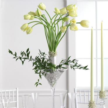 Elevated Tulip Centerpiece