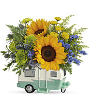 Retro Road Tripping Bouquet